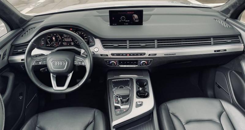 Audi Q7 3.0 V6 TDI e-tron 373 Tiptronic 8 Quattro 5pl Avus Extended Gris occasion à Saint-Ouen - photo n°6