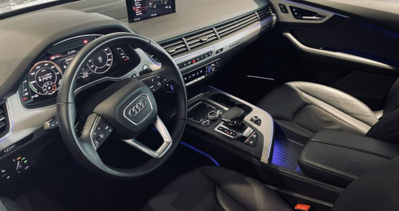 Audi Q7 3.0 V6 TDI e-tron 373 Tiptronic 8 Quattro 5pl Avus Extended Gris occasion à Saint-Ouen - photo n°5