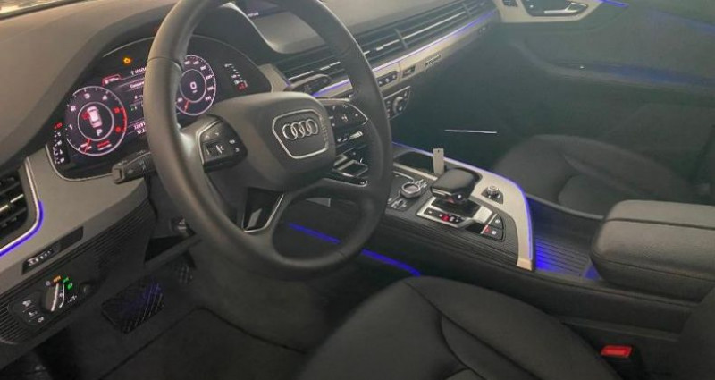 Audi Q7 45 TDI 231ch Avus Extended quattro tiptronic 7 places Gris occasion à Chambourcy - photo n°5