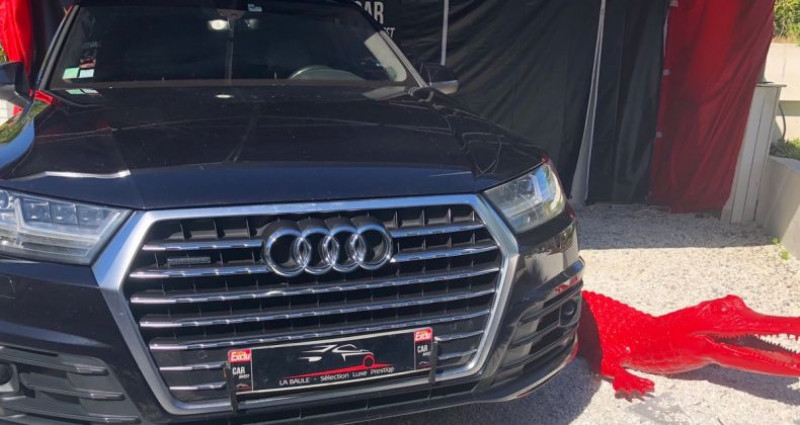 Audi Q7 quattro 3.0 v6 tdi clean diesel 272 lux Noir occasion à LA BAULE - photo n°3