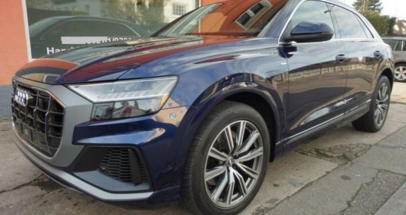 Audi Q8 50 TDI 286 quattro S-Line TIPTRONIC /02/2019 Bleu occasion à Saint Patrice