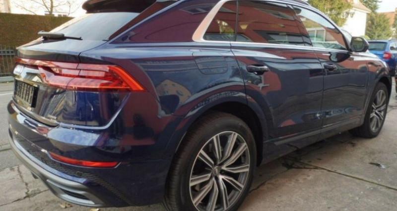 Audi Q8 50 TDI 286 quattro S-Line TIPTRONIC /02/2019 Bleu occasion à Saint Patrice - photo n°5