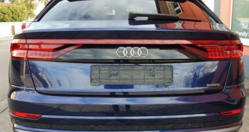 Audi Q8 50 TDI 286 quattro S-Line TIPTRONIC /02/2019 Bleu occasion à Saint Patrice - photo n°6