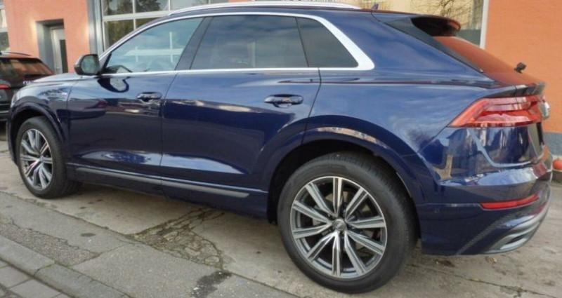 Audi Q8 50 TDI 286 quattro S-Line TIPTRONIC /02/2019 Bleu occasion à Saint Patrice - photo n°7