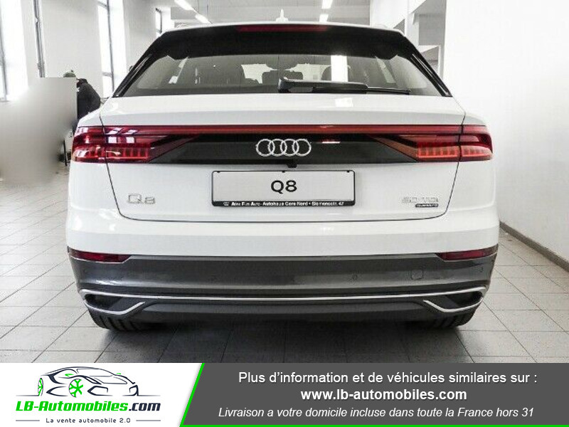 Audi Q8 50 TDI 286 Tiptronic 8 Quattro Blanc occasion à Beaupuy - photo n°14