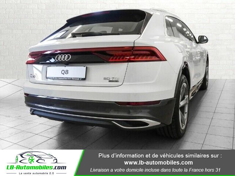 Audi Q8 50 TDI 286 Tiptronic 8 Quattro Blanc occasion à Beaupuy - photo n°3