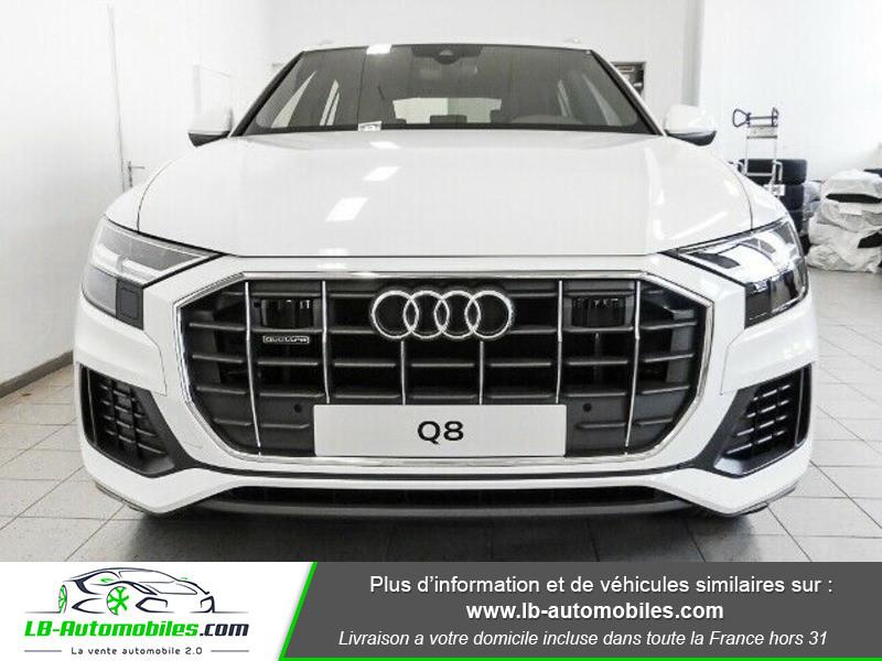 Audi Q8 50 TDI 286 Tiptronic 8 Quattro Blanc occasion à Beaupuy - photo n°12