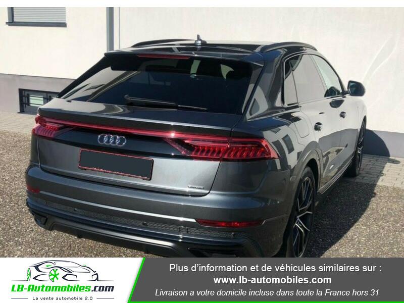 Audi Q8 50 TDI 286 Tiptronic 8 Quattro Gris occasion à Beaupuy - photo n°3