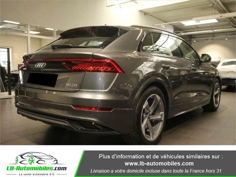 Audi Q8 50 TDI Gris occasion à Beaupuy - photo n°3