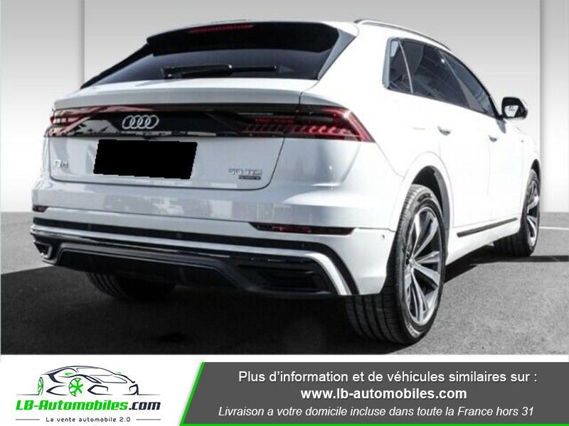 Audi Q8 50 TDI Blanc occasion à Beaupuy - photo n°3