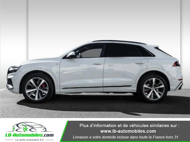 Audi Q8 50 TDI Blanc occasion à Beaupuy - photo n°5