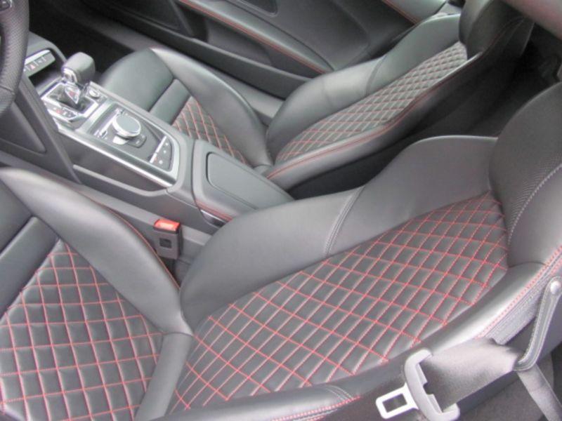 Audi R8 Spyder 5.2 FSI V10 Quattro 540 Rouge occasion à Beaupuy - photo n°4