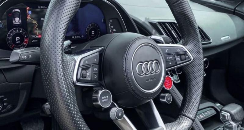 Audi R8 Spyder AUDI R8 SPYDER V10 5.2 - ECOTAXE PAYEE Gris occasion à SAINT LAURENT DU VAR - photo n°6