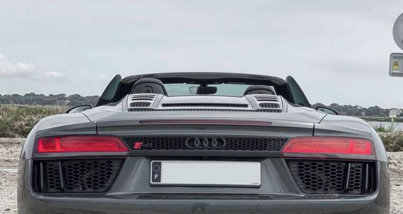 Audi R8 Spyder AUDI R8 SPYDER V10 5.2 - ECOTAXE PAYEE Gris occasion à SAINT LAURENT DU VAR - photo n°4
