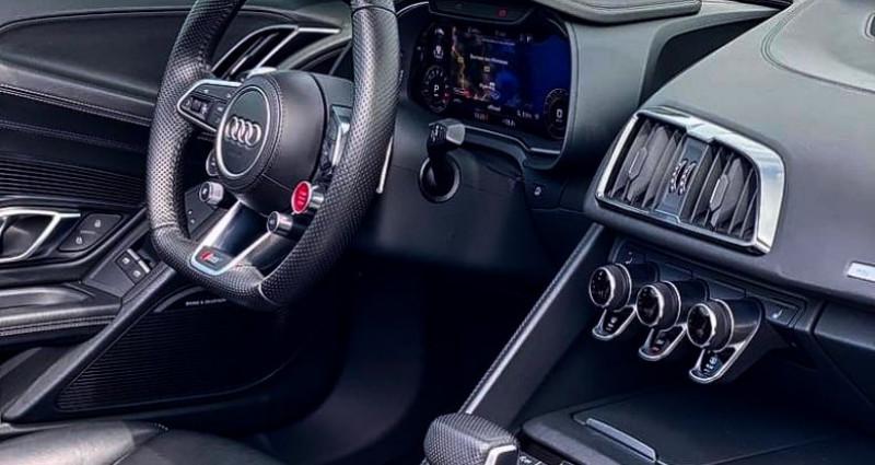 Audi R8 Spyder AUDI R8 SPYDER V10 5.2 - ECOTAXE PAYEE Gris occasion à SAINT LAURENT DU VAR - photo n°5