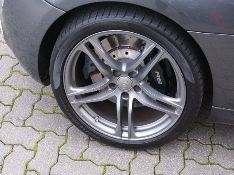 Audi R8 Spyder V10 5.2 FSI 525 ch Gris occasion à BEAUPUY - photo n°8