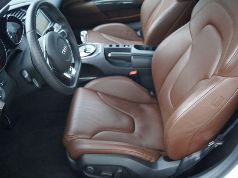 Audi R8 Spyder V10 5.2 FSI 525 ch Blanc occasion à BEAUPUY - photo n°6