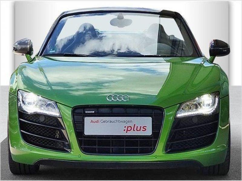 Audi R8 Spyder V10 5.2 FSI 525 ch Vert occasion à BEAUPUY - photo n°9