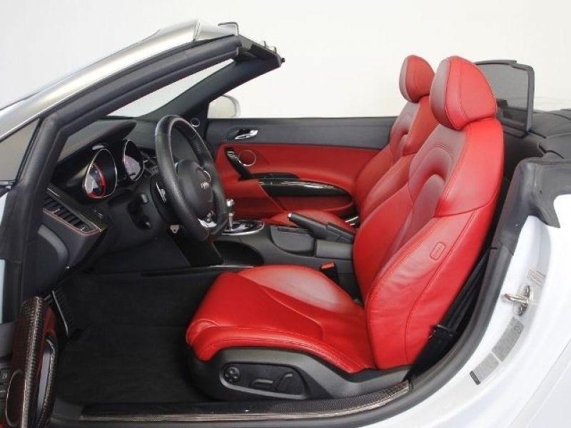 Audi R8 Spyder V10 5.2 FSI 525 ch Blanc occasion à BEAUPUY - photo n°4