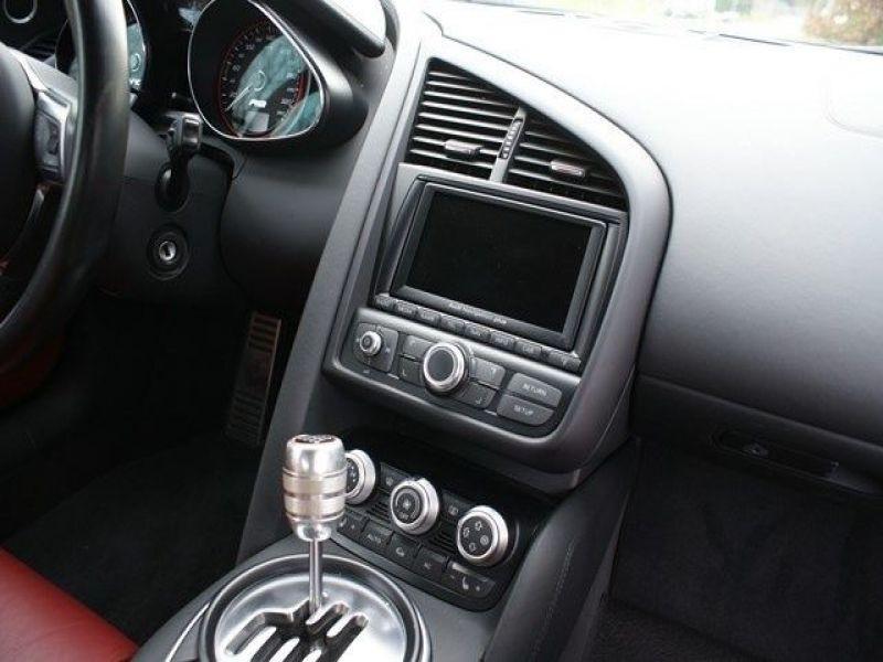 Audi R8 Spyder V10 5.2 FSI 525 ch Gris occasion à BEAUPUY - photo n°4