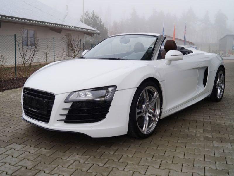 Audi R8 Spyder V10 5.2 FSI 525 ch Blanc occasion à BEAUPUY