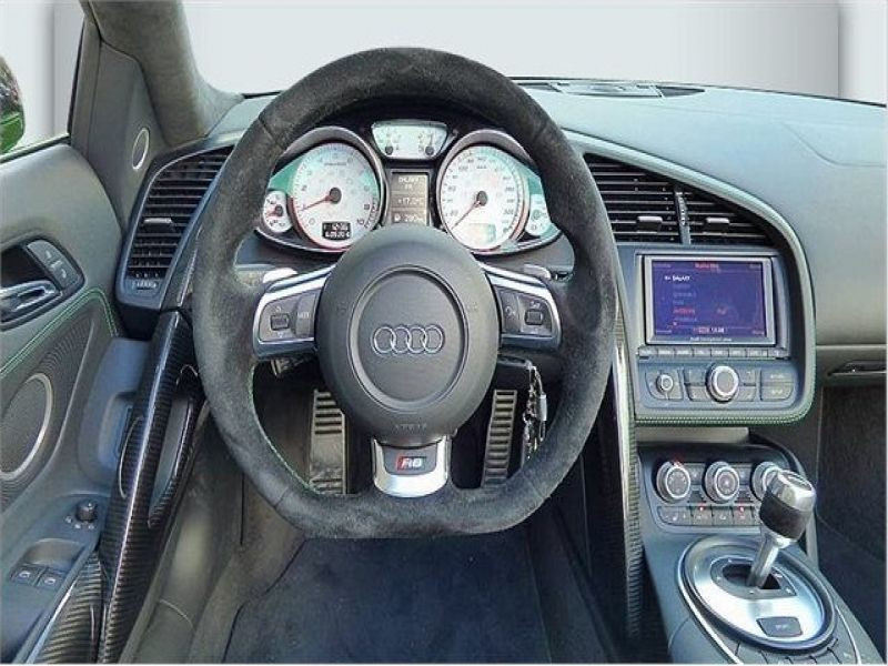 Audi R8 Spyder V10 5.2 FSI 525 ch Vert occasion à BEAUPUY - photo n°3