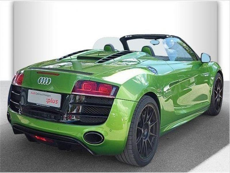 Audi R8 Spyder V10 5.2 FSI 525 ch Vert occasion à BEAUPUY - photo n°2