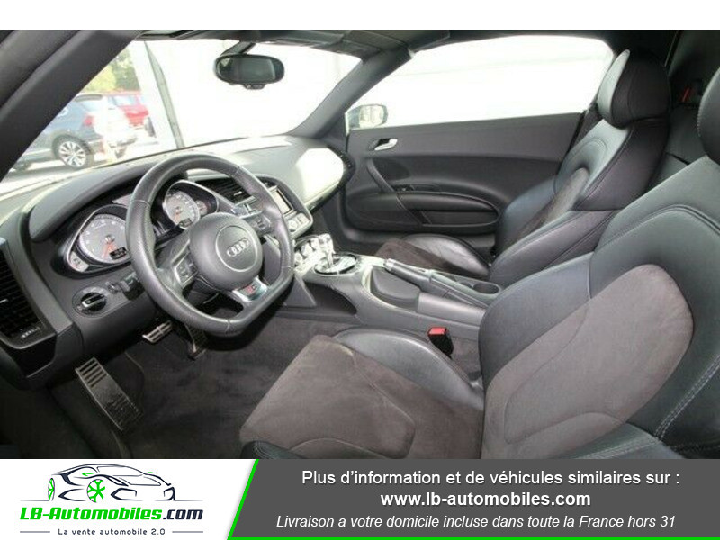 Audi R8 Spyder V8 4.2 FSI 430 / Quattro S tronic 7 Gris occasion à Beaupuy - photo n°4
