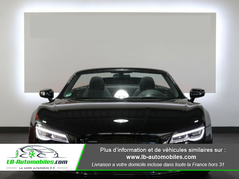 Audi R8 Spyder V8 4.2 FSI 430 / Quattro S tronic 7 Noir occasion à Beaupuy - photo n°11