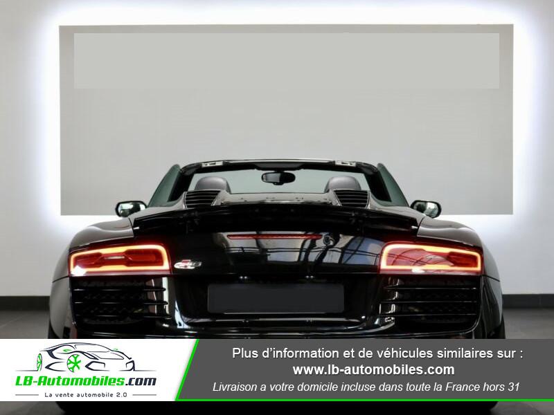 Audi R8 Spyder V8 4.2 FSI 430 / Quattro S tronic 7 Noir occasion à Beaupuy - photo n°14