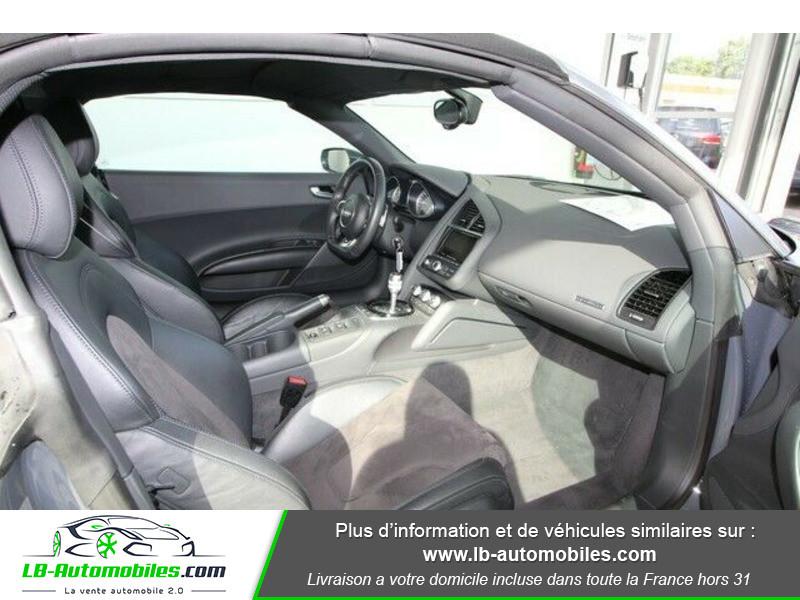 Audi R8 Spyder V8 4.2 FSI 430 / Quattro S tronic 7 Gris occasion à Beaupuy - photo n°5