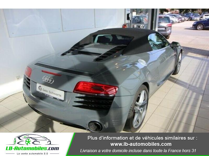 Audi R8 Spyder V8 4.2 FSI 430 / Quattro S tronic 7 Gris occasion à Beaupuy - photo n°3