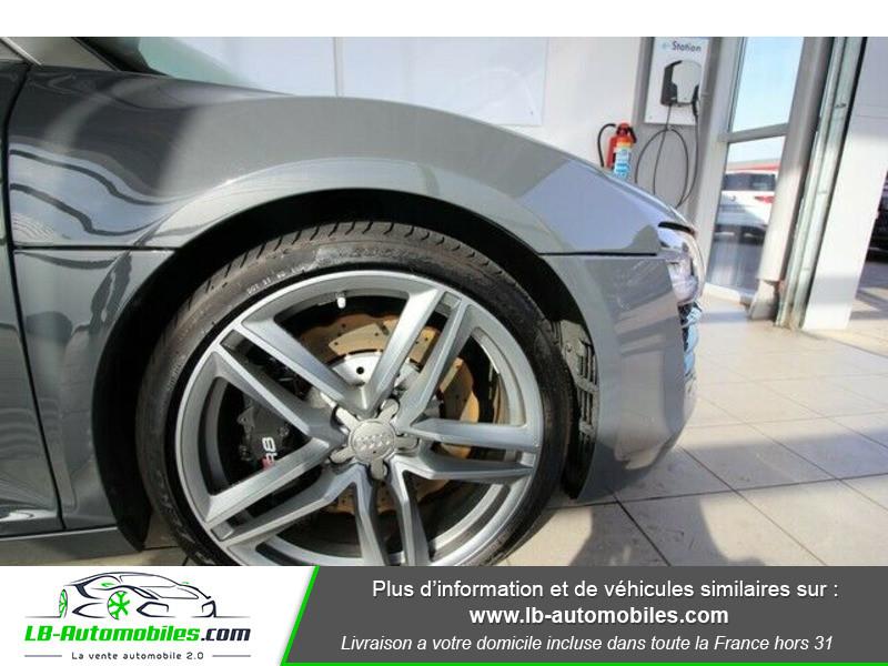 Audi R8 Spyder V8 4.2 FSI 430 / Quattro S tronic 7 Gris occasion à Beaupuy - photo n°12
