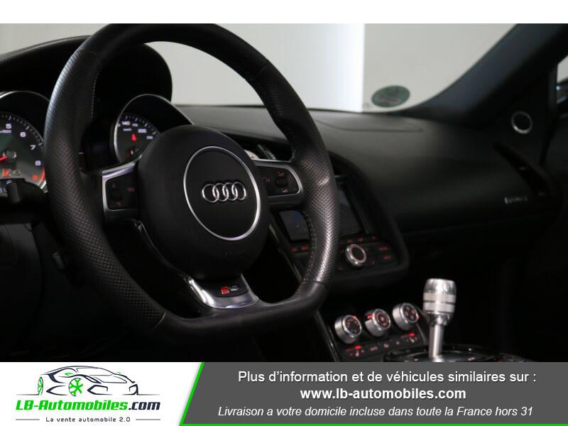 Audi R8 Spyder V8 4.2 FSI 430 / Quattro S tronic 7 Noir occasion à Beaupuy - photo n°6