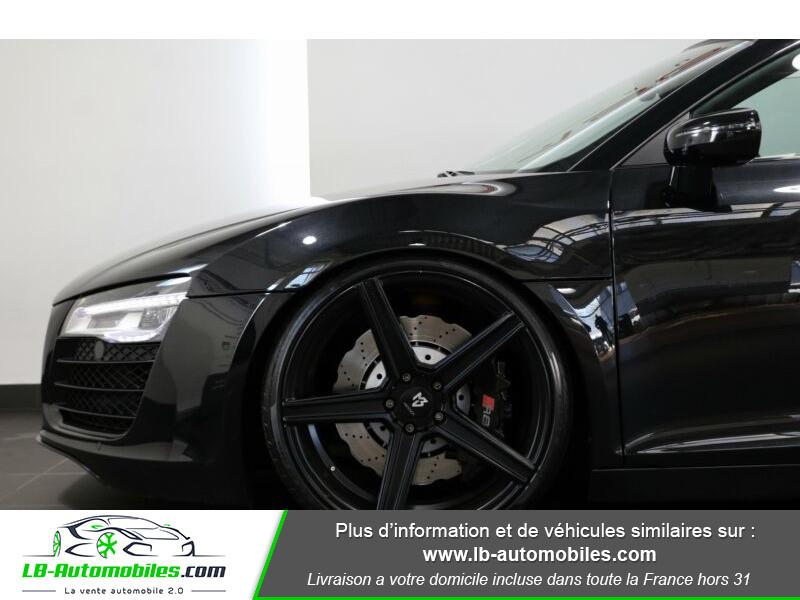 Audi R8 Spyder V8 4.2 FSI 430 / Quattro S tronic 7 Noir occasion à Beaupuy - photo n°10