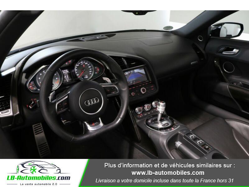 Audi R8 Spyder V8 4.2 FSI 430 / Quattro S tronic 7 Noir occasion à Beaupuy - photo n°5