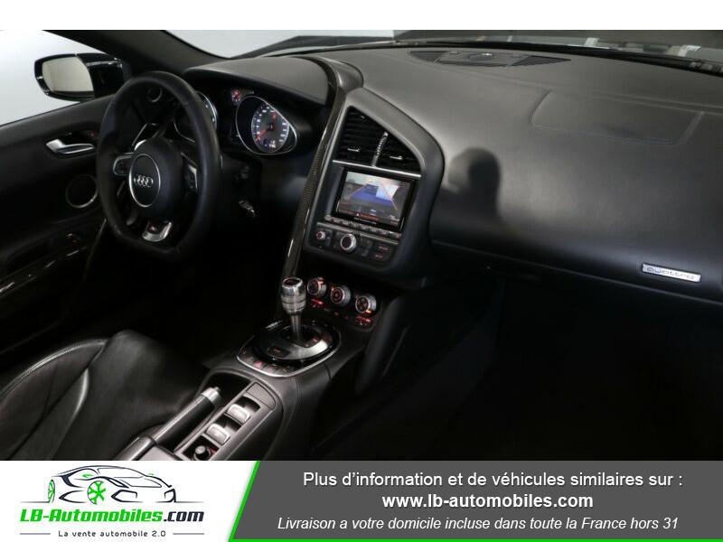 Audi R8 Spyder V8 4.2 FSI 430 / Quattro S tronic 7 Noir occasion à Beaupuy - photo n°8