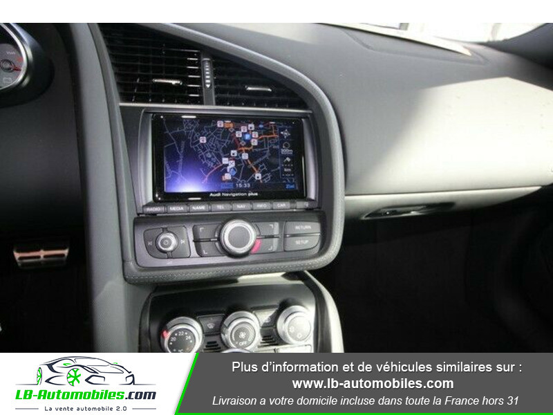 Audi R8 Spyder V8 4.2 FSI 430 / Quattro S tronic 7 Gris occasion à Beaupuy - photo n°7