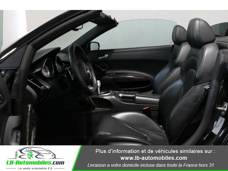Audi R8 Spyder V8 4.2 FSI 430 / Quattro S tronic 7 Noir occasion à Beaupuy - photo n°4