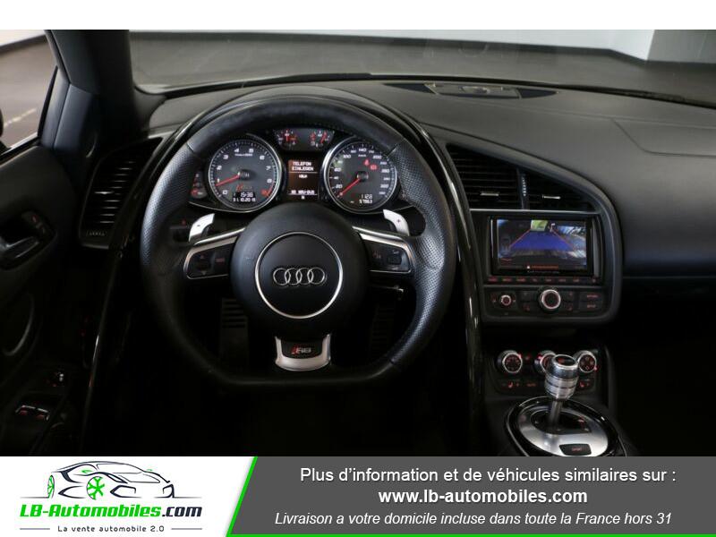 Audi R8 Spyder V8 4.2 FSI 430 / Quattro S tronic 7 Noir occasion à Beaupuy - photo n°2
