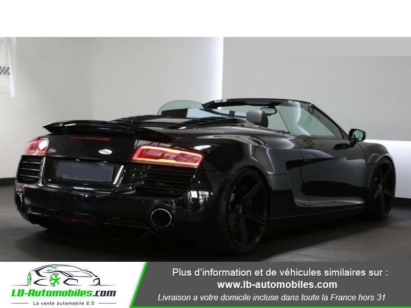 Audi R8 Spyder V8 4.2 FSI 430 / Quattro S tronic 7 Noir occasion à Beaupuy - photo n°3