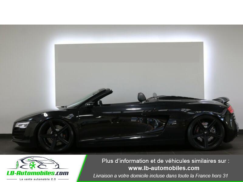 Audi R8 Spyder V8 4.2 FSI 430 / Quattro S tronic 7 Noir occasion à Beaupuy - photo n°13