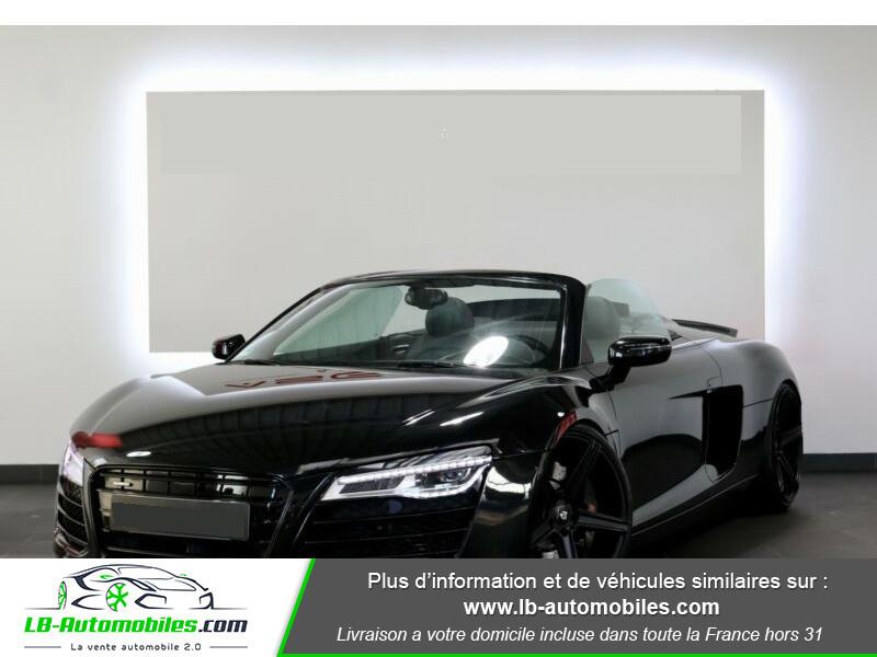 Audi R8 Spyder V8 4.2 FSI 430 / Quattro S tronic 7 Noir occasion à Beaupuy