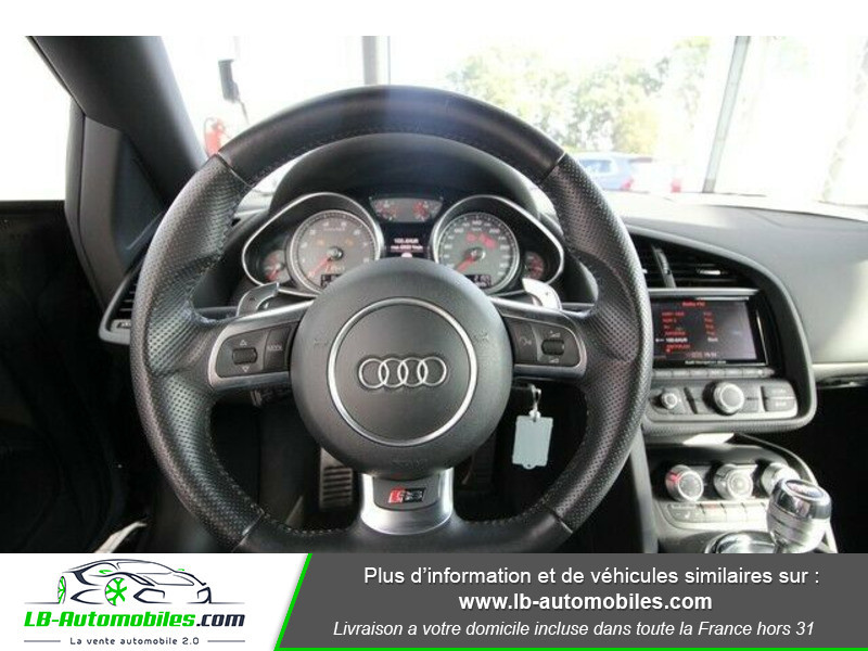 Audi R8 Spyder V8 4.2 FSI 430 / Quattro S tronic 7 Gris occasion à Beaupuy - photo n°2