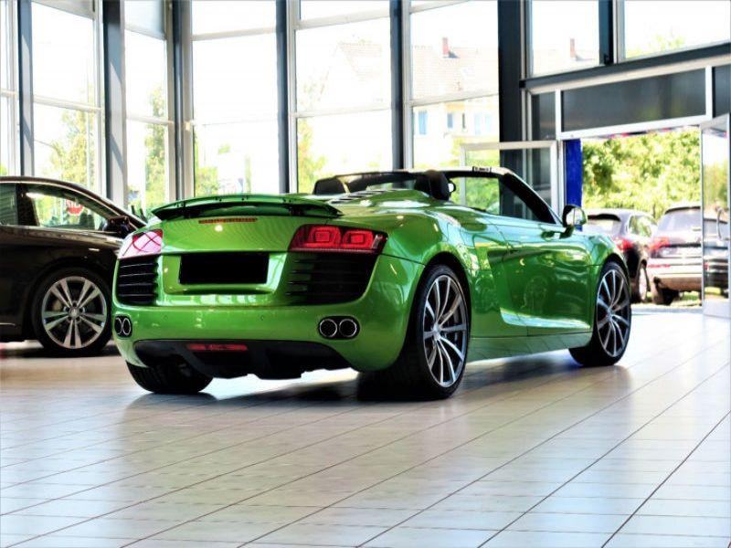 Audi R8 Spyder V8 4.2 FSI Quattro 430 ch Vert occasion à BEAUPUY - photo n°9