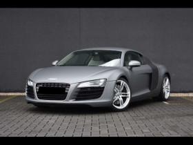 Audi R8 Gris, garage PRESTIGE AUTOMOBILE à BEAUPUY