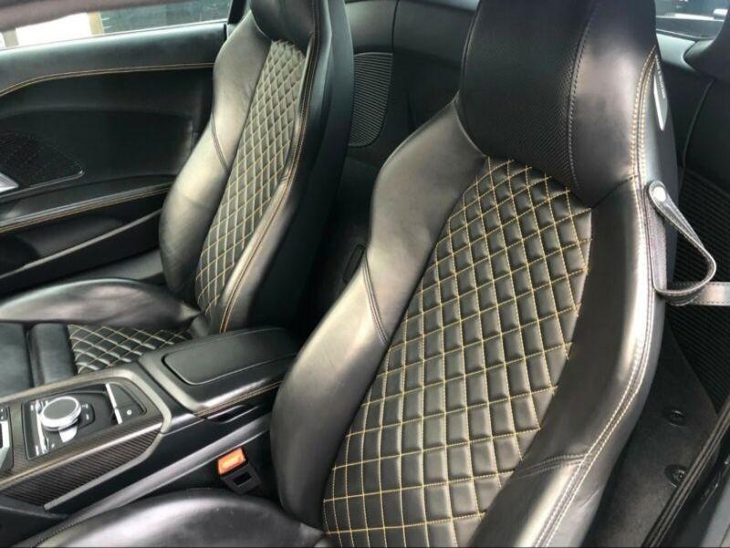 Audi R8 5.2 FSI V10 plus Quattro 610 Gris occasion à BEAUPUY - photo n°4