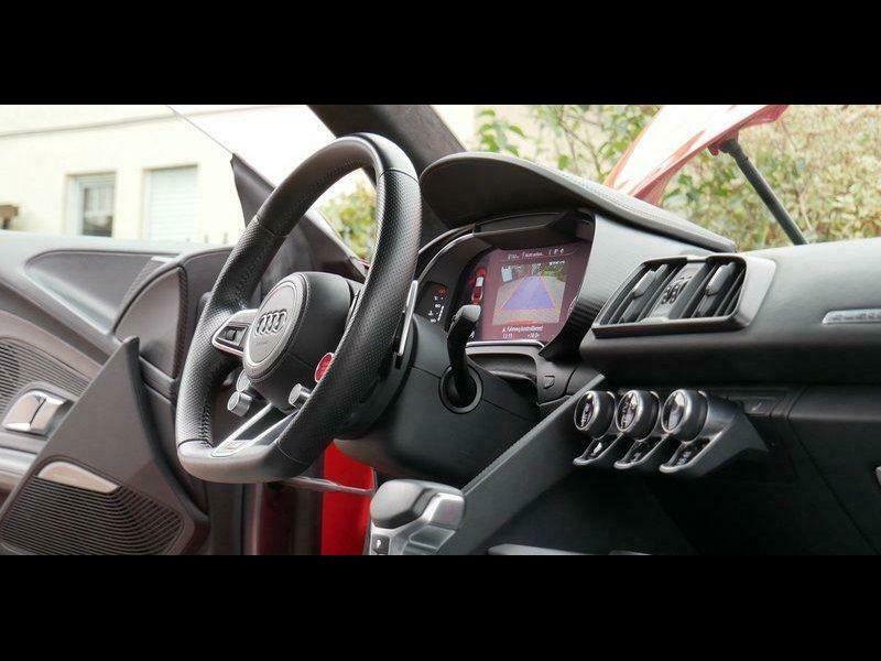 Audi R8 5.2 FSI V10 plus Quattro 610 Rouge occasion à BEAUPUY - photo n°2