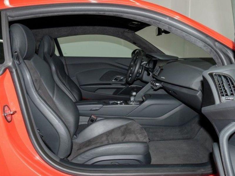 Audi R8 5.2 FSI V10 plus Quattro 610 Rouge occasion à Beaupuy - photo n°4