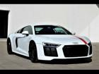 Audi R8 5.2 FSI V10 RWS 1 / 999 Blanc à BEAUPUY 31